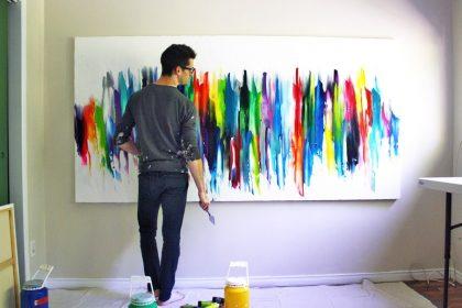Être parent, c'est être comme un peintre